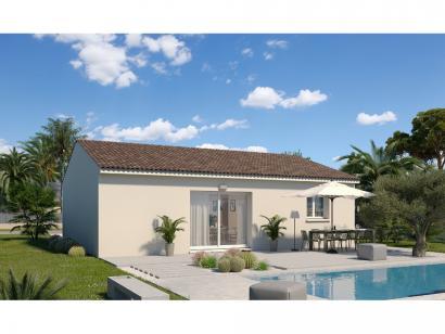 Modèle de maison Plain-pied GI 2 ch Design 2 chambres  : Photo 2