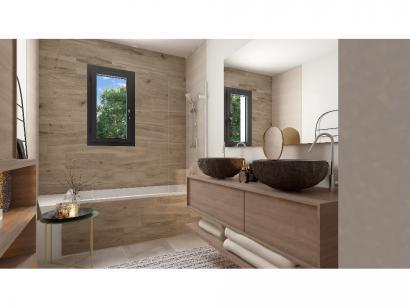 Modèle de maison Plain-pied GI 4 ch Design 4 chambres  : Photo 11