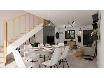 Modèle de maison Etage GI 3 ch Design 3 chambres  : Photo 3