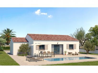 Modèle de maison Plain-pied GA 3 ch Trendy 3 chambres  : Photo 2