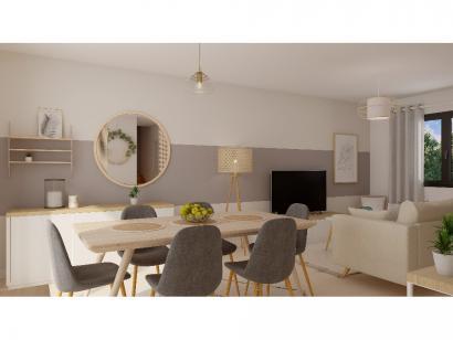 Modèle de maison Etage GA 3 ch Trendy 3 chambres  : Photo 4
