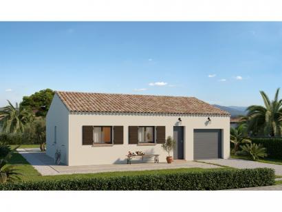 Modèle de maison Plain-pied GI 2 ch Trendy 2 chambres  : Photo 1