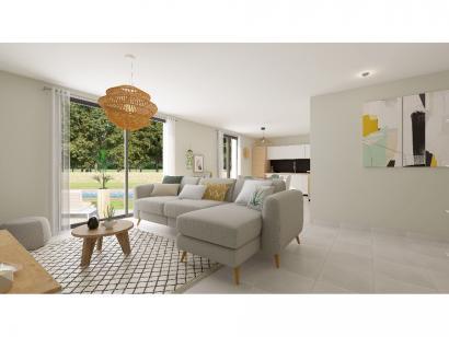 Modèle de maison Plain-pied GI 3 ch Trendy 3 chambres  : Photo 3