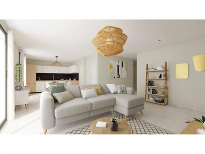 Modèle de maison Plain-pied GI 3 ch Trendy 3 chambres  : Photo 5