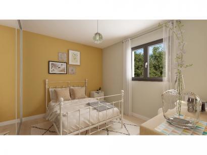 Modèle de maison Plain-pied GI 3 ch Trendy 3 chambres  : Photo 6