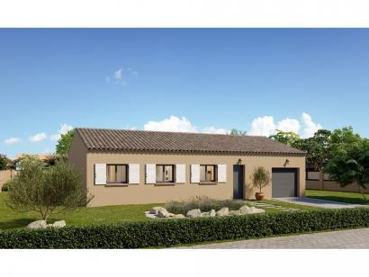Modèle de maison Plain-pied GI 4 ch Trendy 4 chambres  : Photo 1