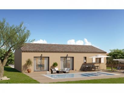 Modèle de maison Plain-pied GI 4 ch Trendy 4 chambres  : Photo 2