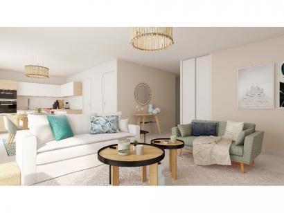 Modèle de maison Plain-pied GI 4 ch Trendy 4 chambres  : Photo 3