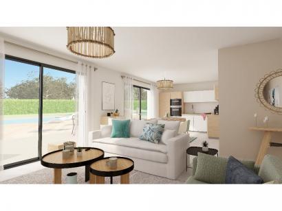 Modèle de maison Plain-pied GI 4 ch Trendy 4 chambres  : Photo 4
