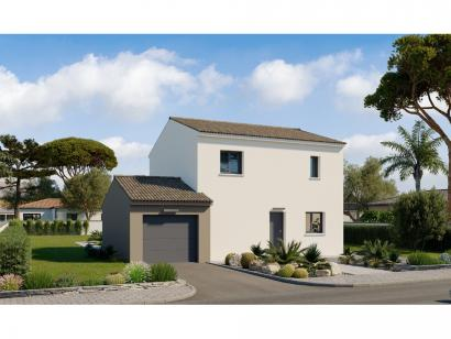Modèle de maison Etage GA 4 ch Design 4 chambres  : Photo 1