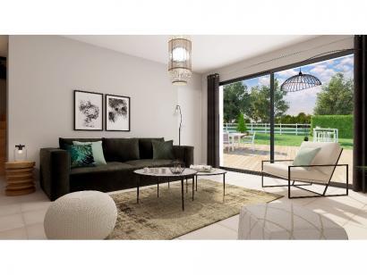 Modèle de maison Etage GA 4 ch Design 4 chambres  : Photo 9