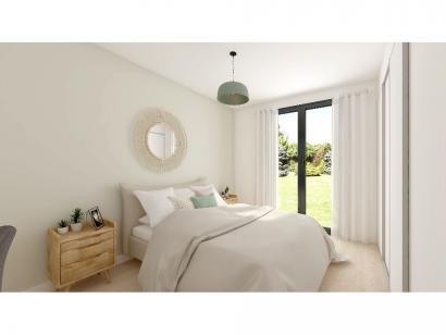 Modèle de maison Plain-pied GA 4 ch Trendy 4 chambres  : Photo 5