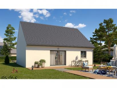Modèle de maison Plain-pied GI 2 ch _ GARAGE SUITE PARENTALE 3 chambres  : Photo 2