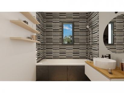 Modèle de maison Plain-pied GI 2 ch _ GARAGE SUITE PARENTALE 3 chambres  : Photo 8