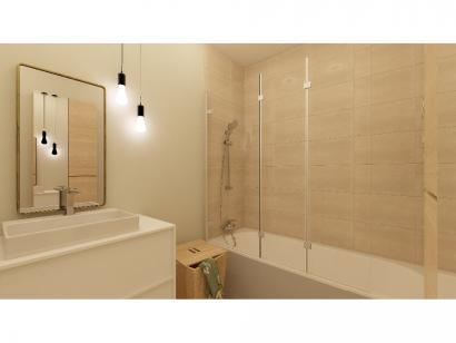 Modèle de maison Plain-pied GI 3 ch _ CHAMBRE TWIN + GARAGE SUITE P 4 chambres  : Photo 9