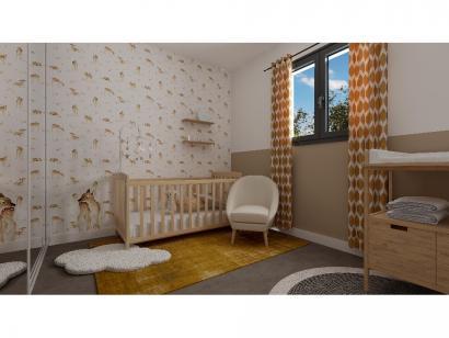 Modèle de maison Etage GI 4 ch - GARAGE SUITE PARENTALE 4 chambres  : Photo 8