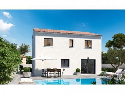 Modèle de maison Etage GI 4 ch - GARAGE SUITE PARENTALE 4 chambres  : Photo 2