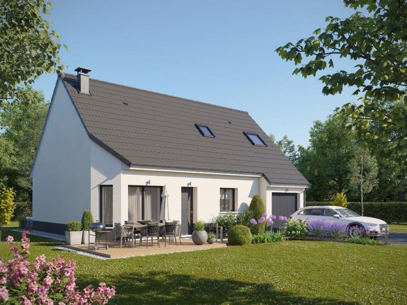 Maison neuve Houlbec-Cocherel 273200 € * : vignette 1