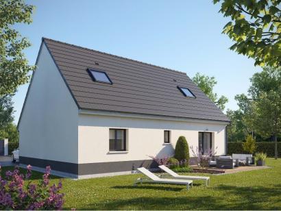 Maison neuve  à  Houlbec-Cocherel (27120)  - 273200 € * : photo 2
