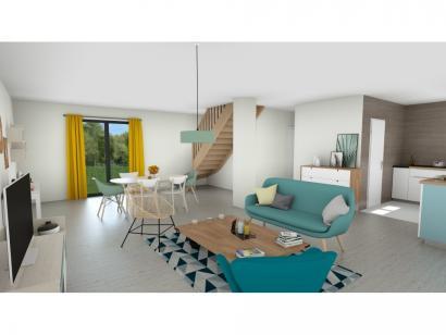 Maison neuve  à  Houlbec-Cocherel (27120)  - 273200 € * : photo 3