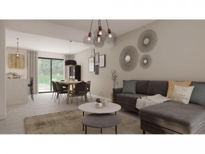 Modèle de maison Combles GA 4 ch Design 3 chambres  : Photo 3