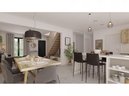 Modèle de maison Combles GA 4 ch Design 3 chambres  : Photo 5