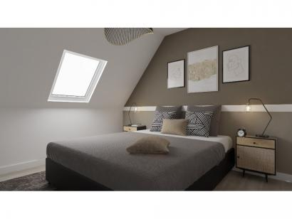 Modèle de maison Combles GA 4 ch Design 3 chambres  : Photo 7