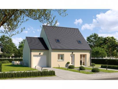 Modèle de maison Combles GA 4 ch Design 3 chambres  : Photo 1