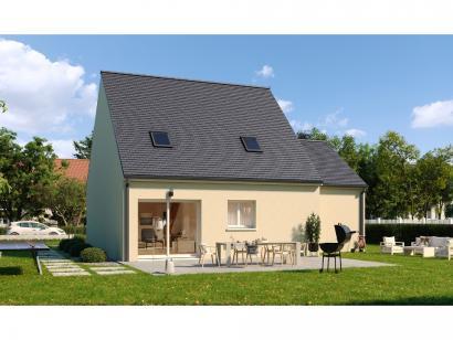 Modèle de maison Combles GA 4 ch Design 3 chambres  : Photo 2