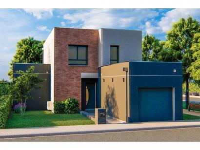 Modèle de maison AM-104-ETG-R-GA 4 chambres  : Photo 1