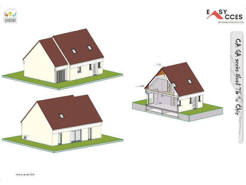 Modèle de maison CA GA accès Nord 76 : Vignette 1