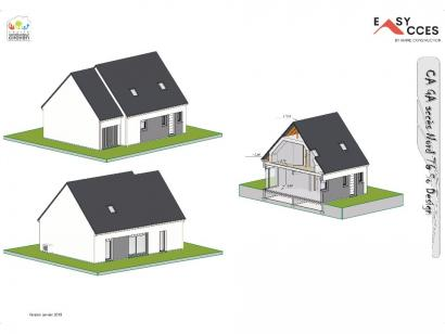 Modèle de maison CA GA accès Nord 76 3 chambres  : Photo 3