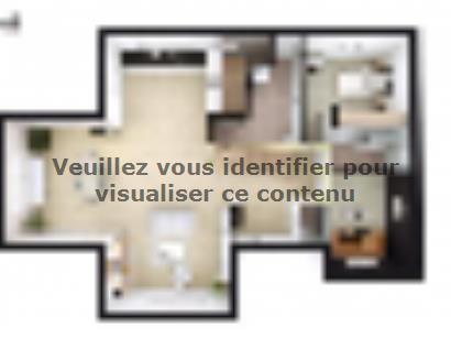 Plan de maison SM_201_ETG_SS_97673 5 chambres  : Photo 1