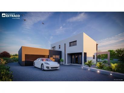 Modèle de maison SM_209_R+1_GA_98696 5 chambres  : Photo 2