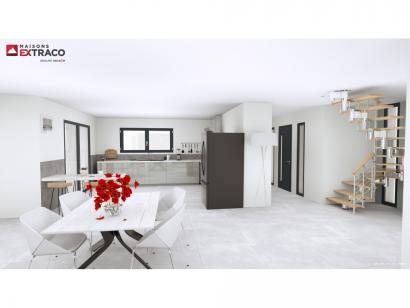 Modèle de maison SM_209_R+1_GA_98696 5 chambres  : Photo 3