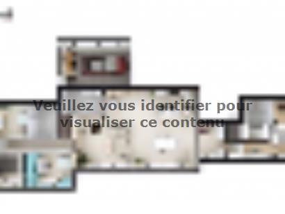 Plan de maison SM_166_PP_GA_96403 4 chambres  : Photo 1