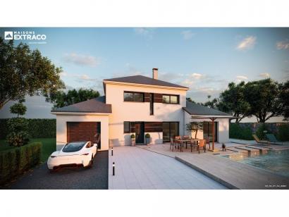 Modèle de maison SM_125_R+1_GA_82801 4 chambres  : Photo 1