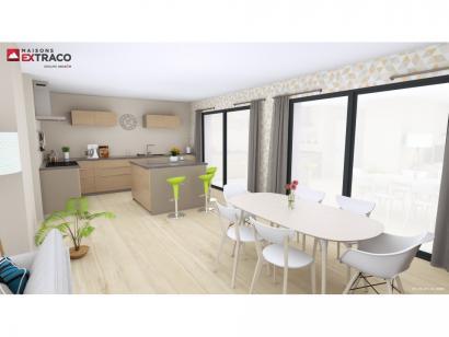 Modèle de maison SM_125_R+1_GA_82801 4 chambres  : Photo 3