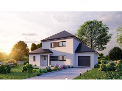 Modèle de maison SM_134_R+1_GA_84459 4 chambres  : Photo 1