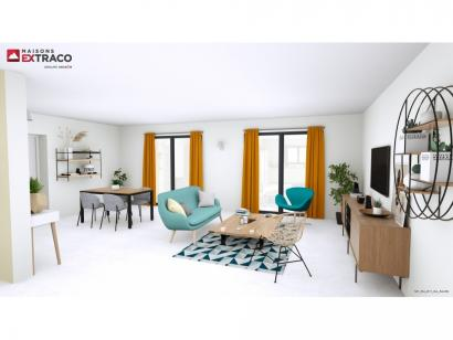 Modèle de maison SM_134_R+1_GA_84459 4 chambres  : Photo 2