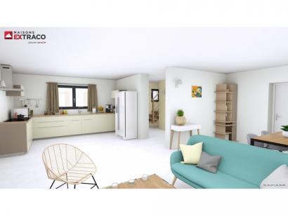 Modèle de maison SM_134_R+1_GA_84459 4 chambres  : Photo 3