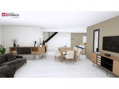 Modèle de maison SM_174_R+1_GA_87297 4 chambres  : Photo 2