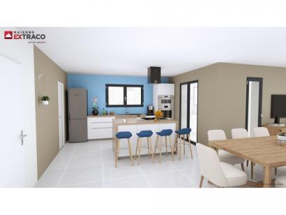 Modèle de maison SM_174_R+1_GA_87297 4 chambres  : Photo 3