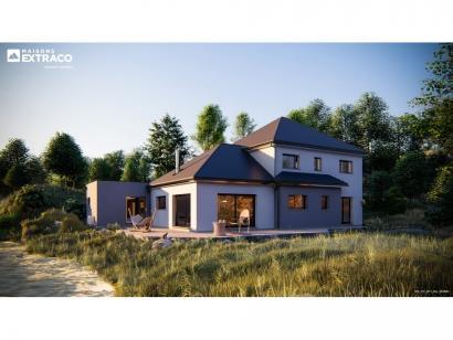 Modèle de maison SM_177_R+1_GA_104521 5 chambres  : Photo 1