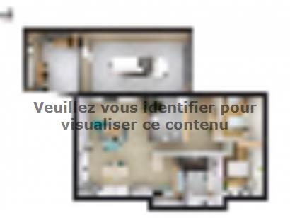 Plan de maison SM_177_R+1_GA_104521 5 chambres  : Photo 1