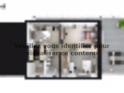 Plan de maison SM_150_R+1_GA_104177 4 chambres  : Photo 2