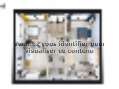 Plan de maison SM_140_R+1_103081 3 chambres  : Photo 2