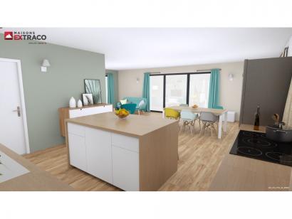Modèle de maison SM_175_ETG_GI_91952 4 chambres  : Photo 2