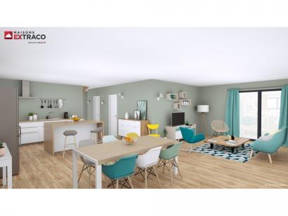 Modèle de maison SM_175_ETG_GI_91952 4 chambres  : Photo 3