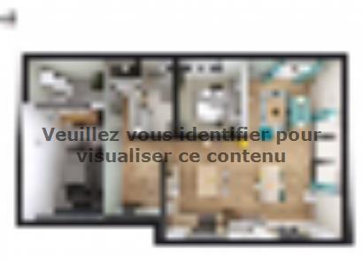 Plan de maison SM_175_ETG_GI_91952 4 chambres  : Photo 1